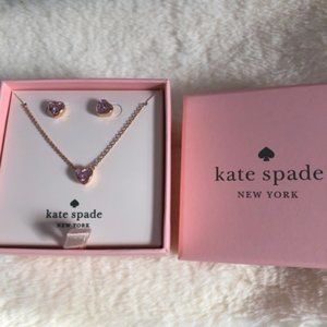 Jewelry - Kate Spade::ROMANTIC ROCKS Pendant and Studs